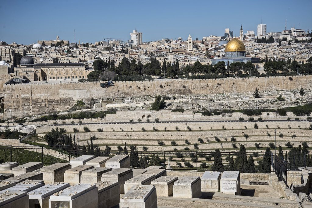 Graves & the Temple Mount