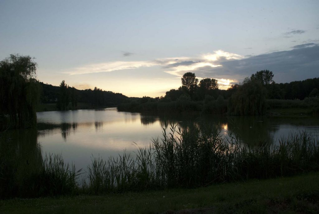 Evening on the Danube at Ilok