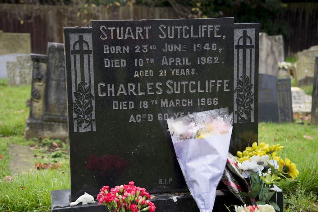 Stuart Sutcliffe's Gravestone