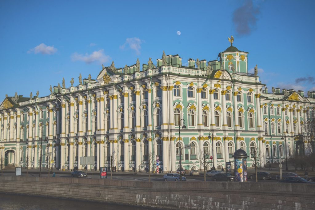 Winter Palace from Dvortsovy Most 2