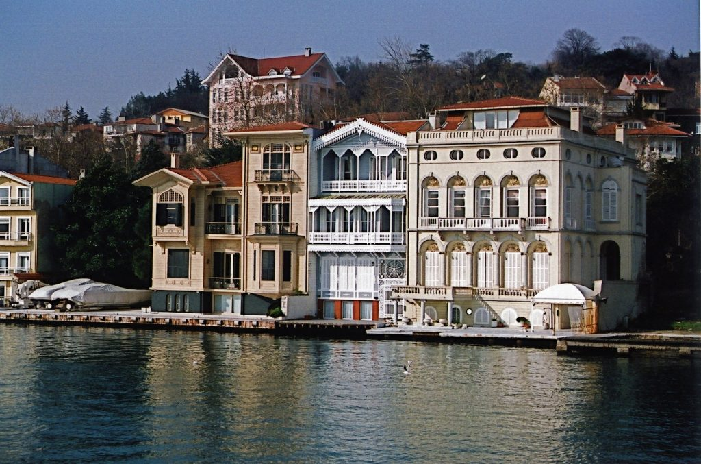 Yalılar on the Bosphorus