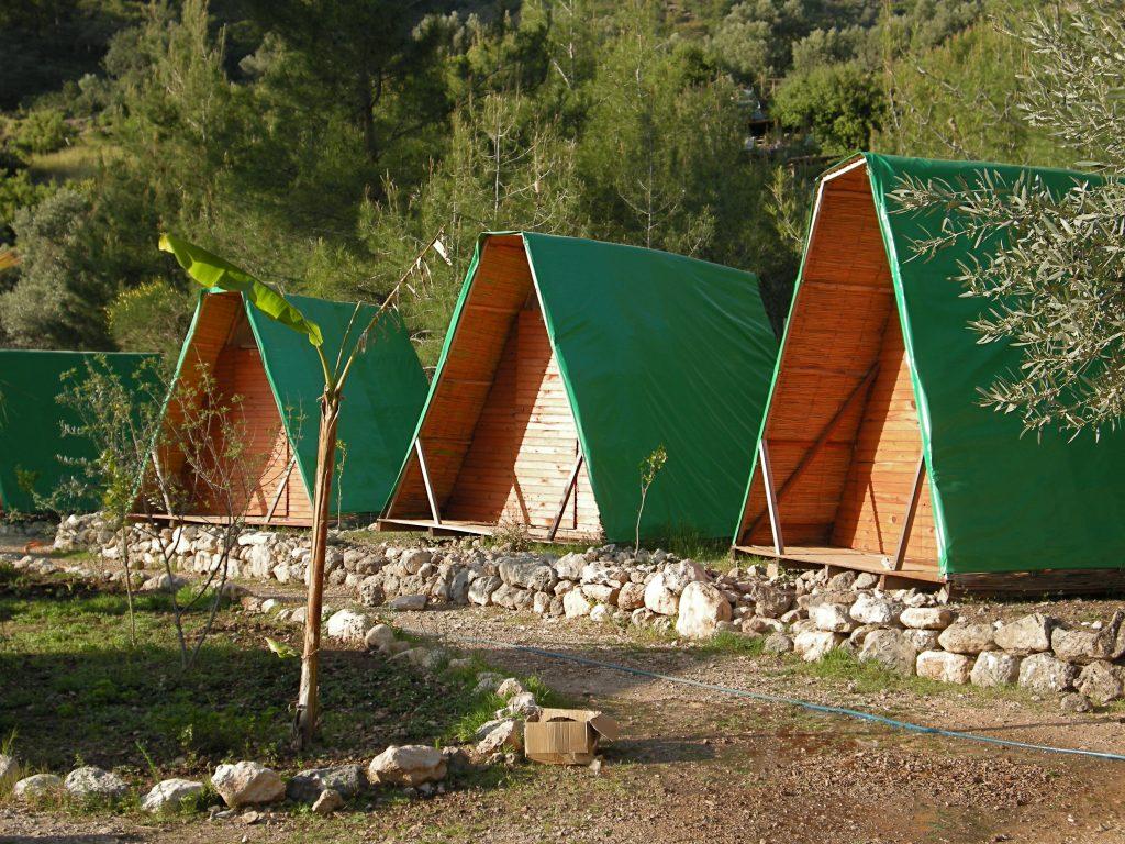 Shanti Garden A-frames