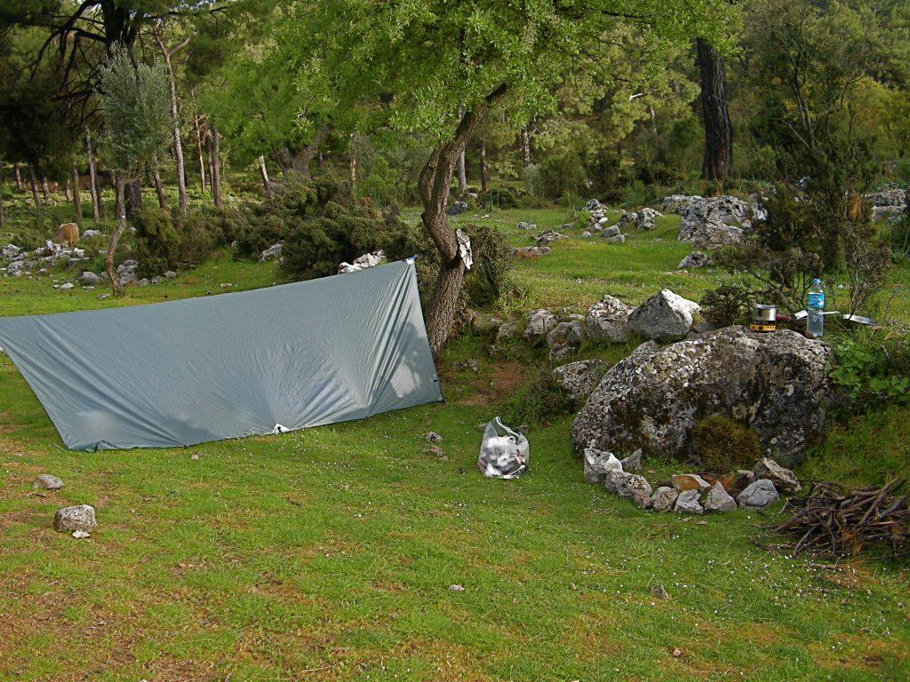 My Camp at Bel