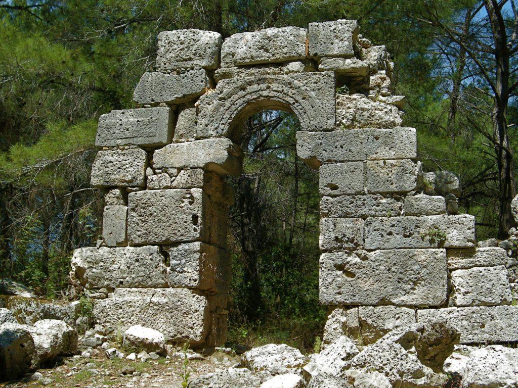Ruin at Phaselis