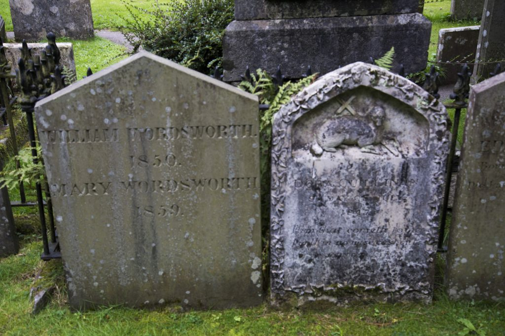Wordsworth's Grave at Grasmere