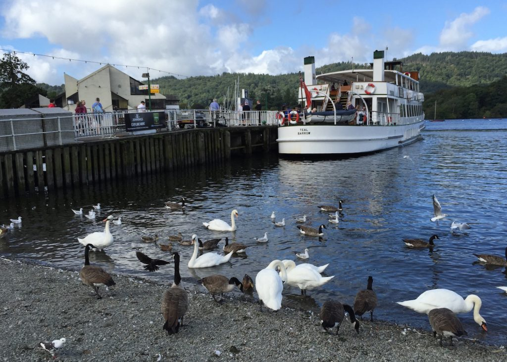 Ambleside Pier on Lake Windermere