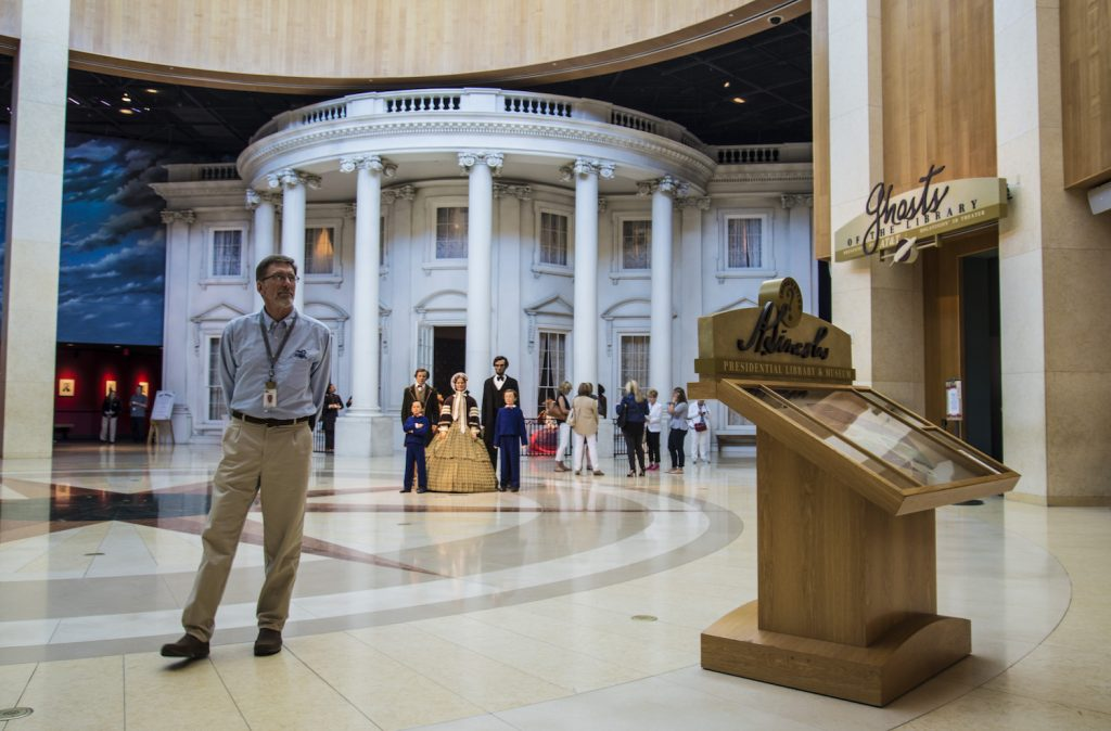 Lobby of Lincoln Museum
