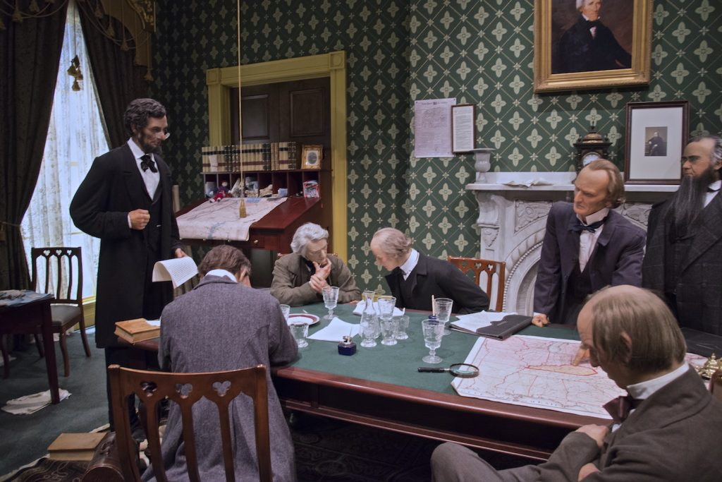 Lincoln Reading the Emancipation Proclamation to His Cabinet