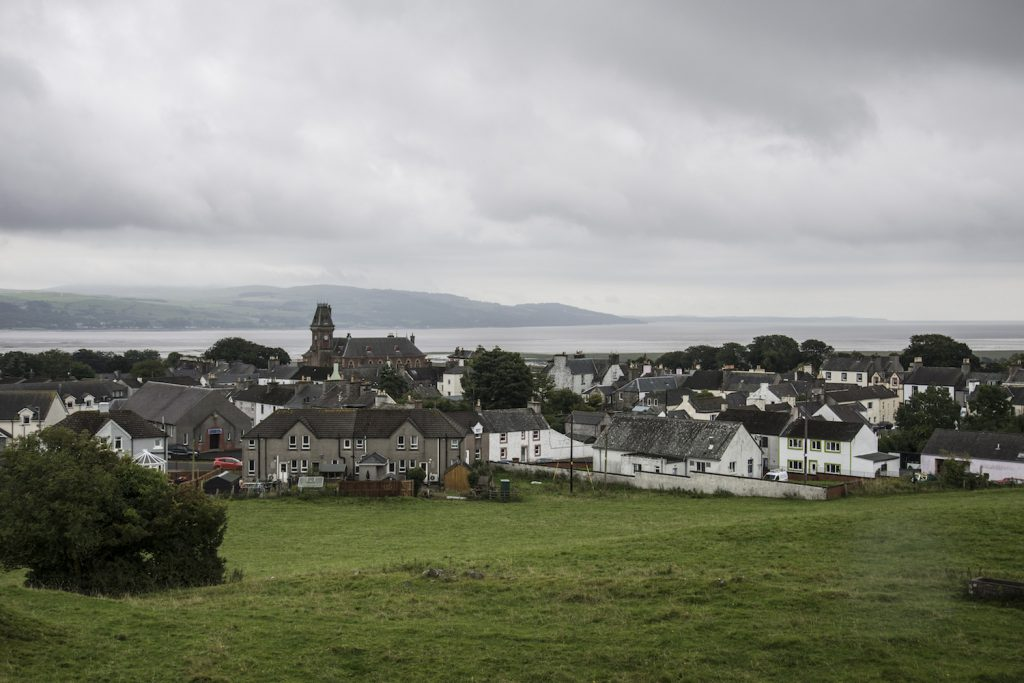 Wigtown from Windy Hill