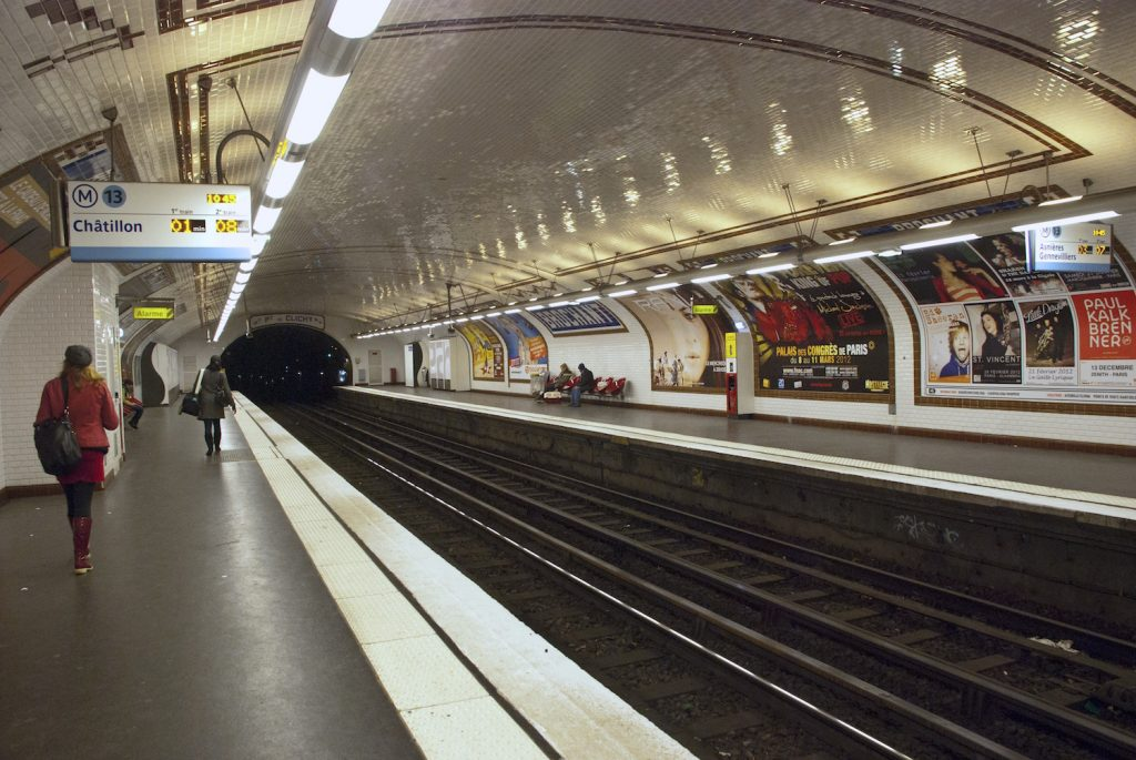Brochant Metro Station