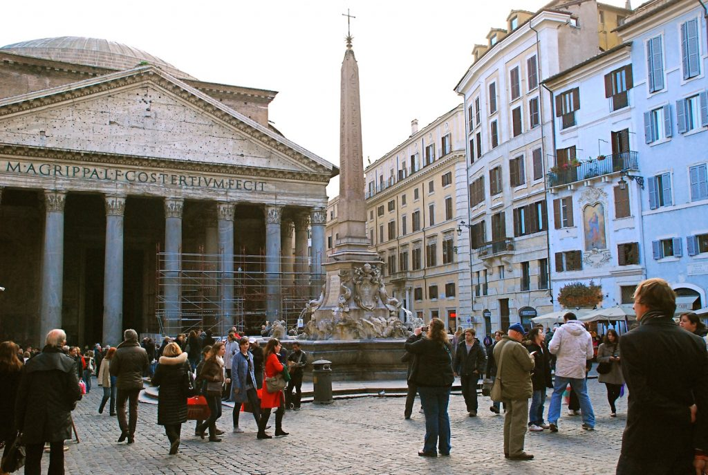 Around the Pantheon