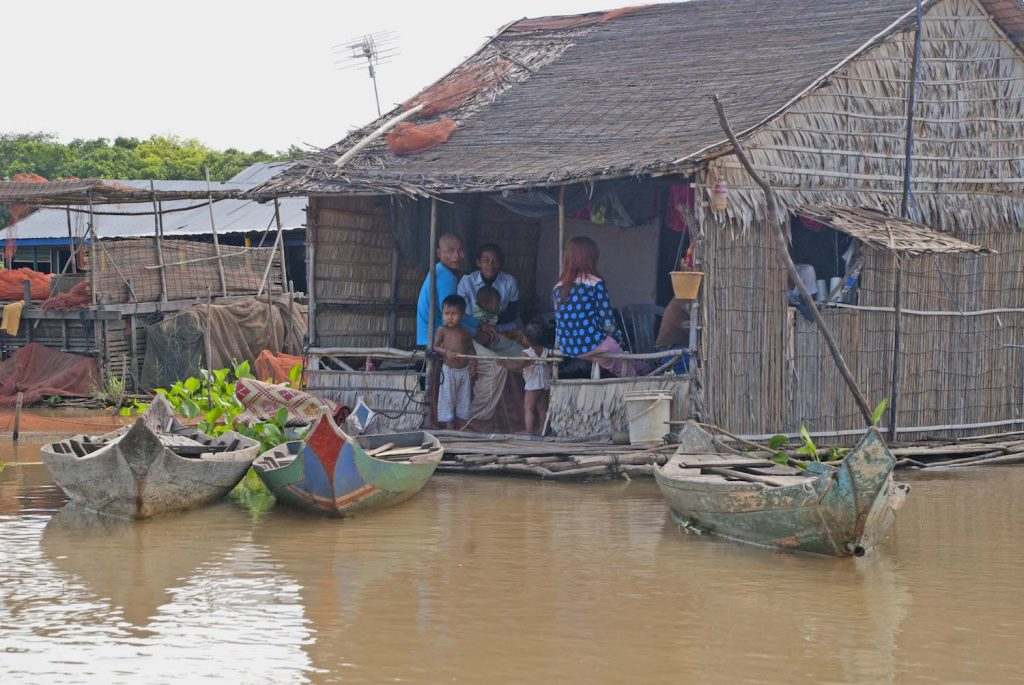 Floating Village in the Mekong