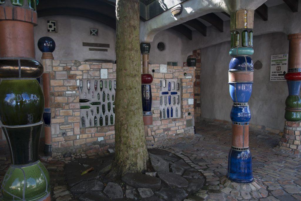 Kawakawa's Public Toilets by Frederich Hundertwasser