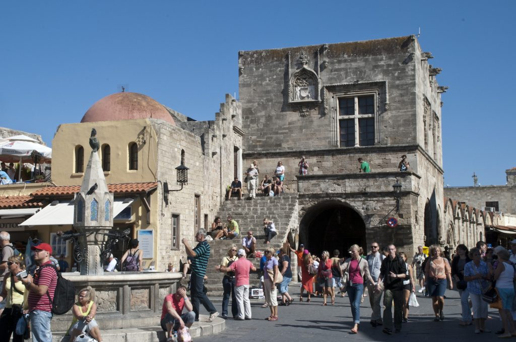 Rhodes - Town Square