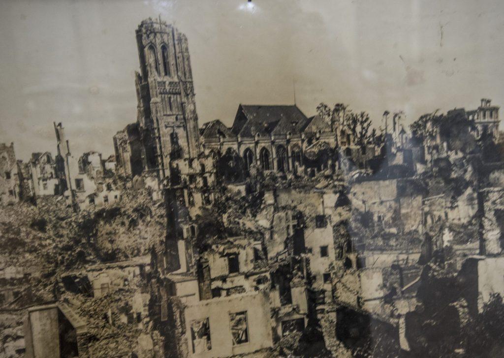 St Lô Bombed