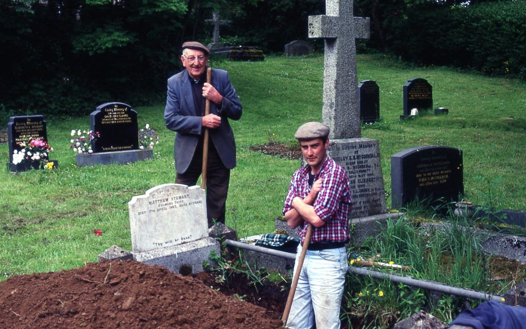 Grave Diggers in Derry