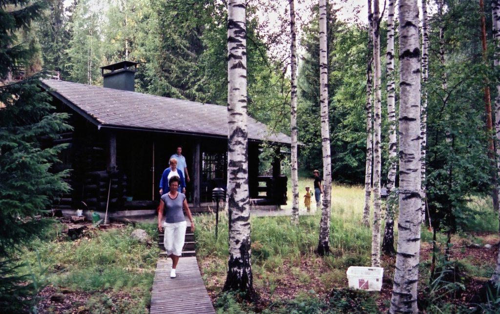 Varesjavvi Lake, July 30, 2006