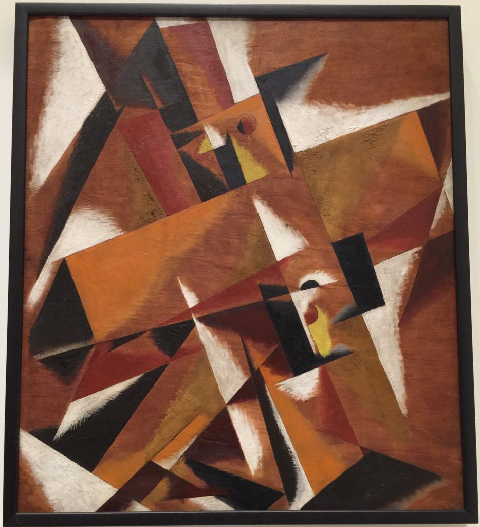 Dimensional and Force Structure by Lioubov Popova 1921