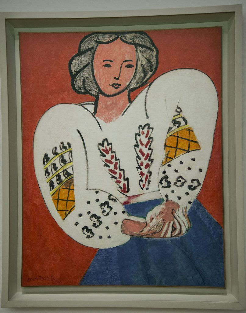 The Romanian Blouse by Matisse