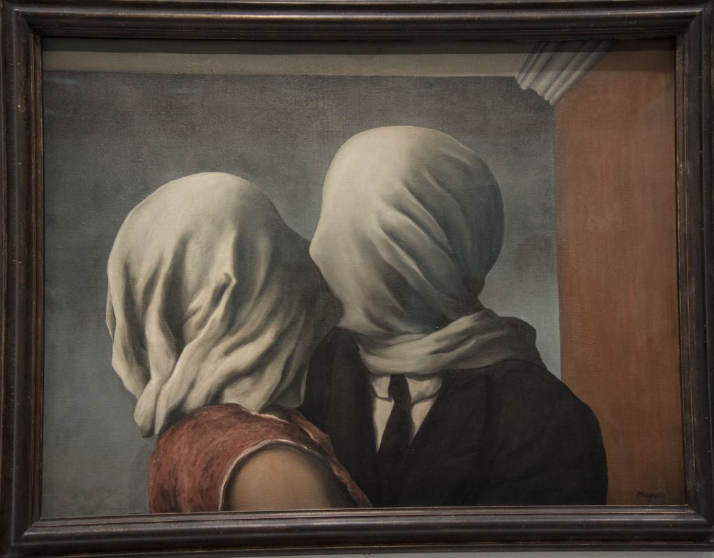 Les Amants by Magritte 1928