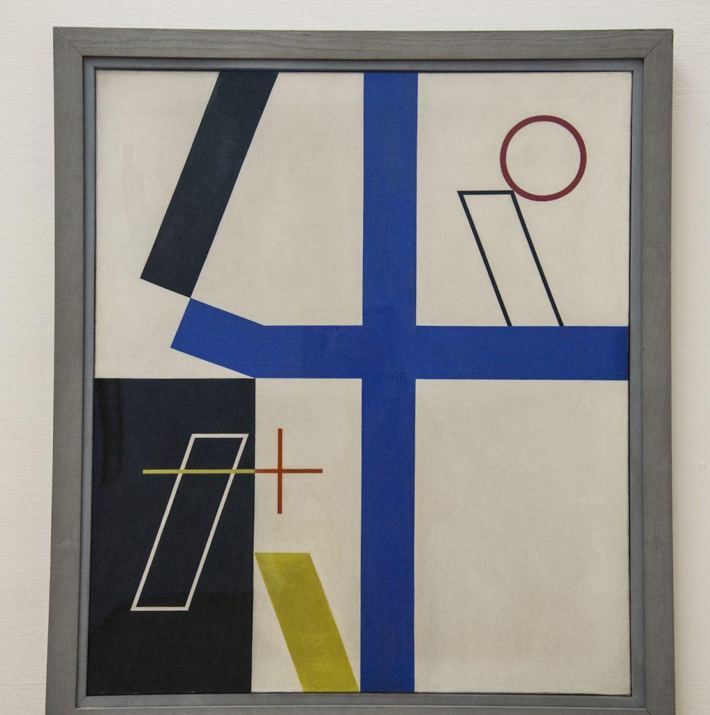 Quatre Espaces à Croix Brisées by Sophie Taeuber-Arp 1932