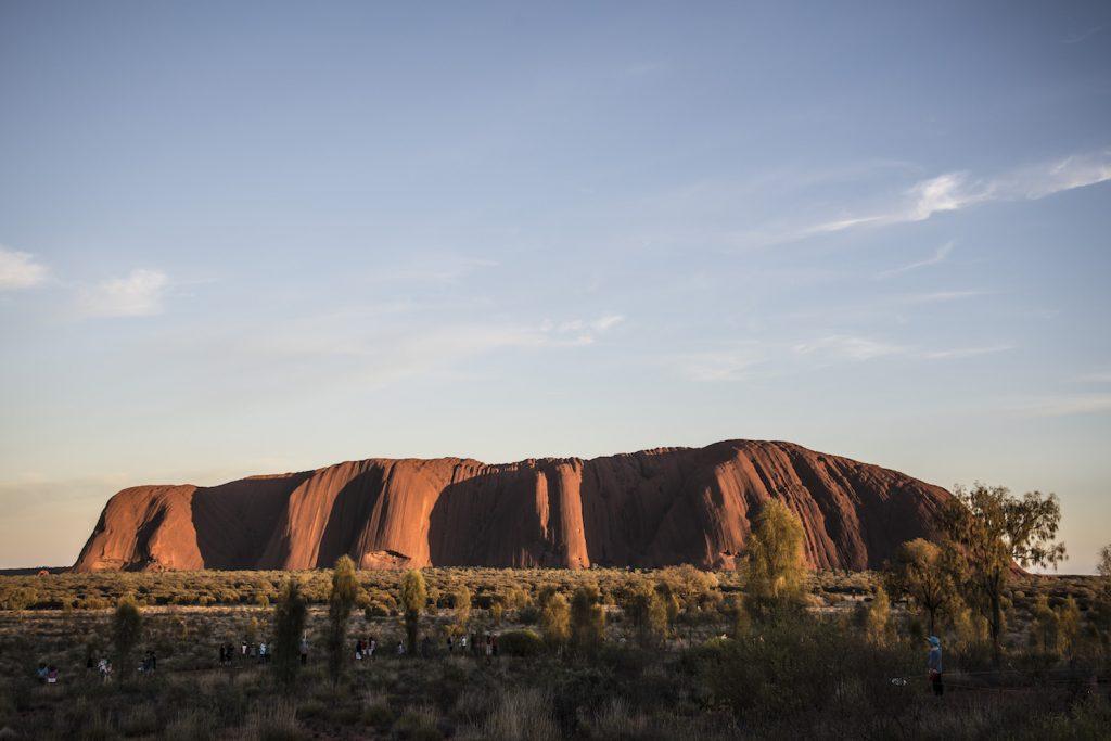 Uluru at Daybreak