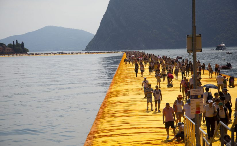 Walking The Floating Piers